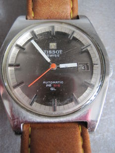 Tissot PRC 516 GL men's watch from the 1970s.