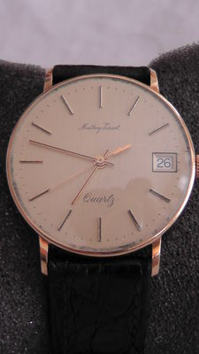 Mathey-Tissot in gold, for men, with zenith movement – From the 70s/80s