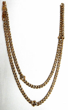 Superb necklace in 18 Kt solid gold
