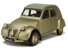 Norev - Scale 1/18 - Citroën 2CV A 1950 - Grey brown