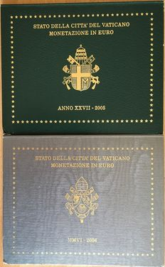 Vatican City - Divisional series - John Paul II, 2005 and 2006