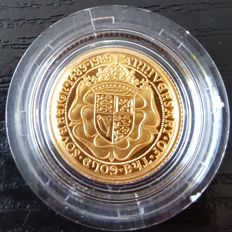 Great Britain - ½ Sovereign 1989 '500th Anniversary' - Gold