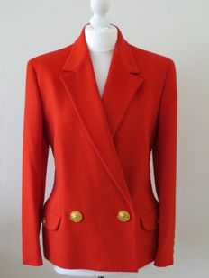 Versace - Glamorous jacket  with golden buttons.