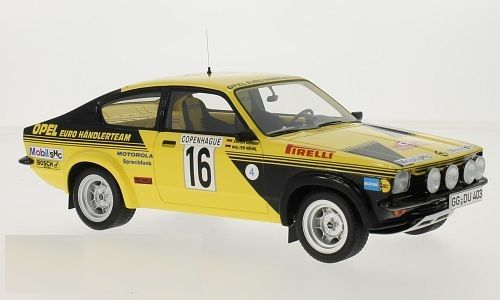 bos models scale 1 18 opel kadett c coupe rally monte. Black Bedroom Furniture Sets. Home Design Ideas