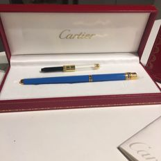 Cartier Fountain Pen - Like new condition  - with booklet