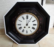 French Japy Frères et Cie bullseye clock - From  1855 - Grande Medaille d'Honneur