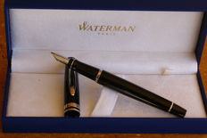 Splendid Large Waterman Expert CT Black Lacquered Fountain Pen. New