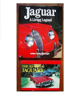 Automobile Books; Lot with 2 editions on Jaguar - 1990