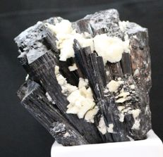 Beautiful Black tourmaline Specimen with Albite:- 9*8*5 cm - 340gm