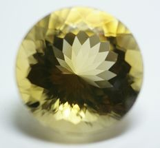 Citrine, yellow,  36,29ct