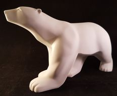 François Pompon (1855-1933) - White Polar Bear - Mouseion Collection