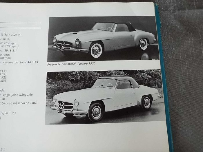 Mercedes-Benz Production Models 1946-1975