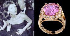 Jaqueline Onassis Kennedy large cocktail ring