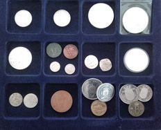 The Netherlands, Provincial and Overseas - collection of various coins - incl. silver
