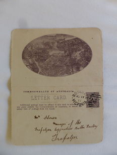 Australia 1910/1915  - Set of early Lettercards and Postcards with illustrations