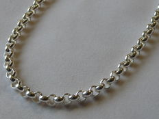 Unisex 925 Silver necklace    Weight: 32.98 g.  Length: 51 cm. Width: 5.01 mm.