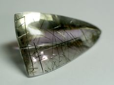 Tourmalinated Quartz - 106.25 ct