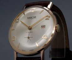 VARCAR  dato- Swiss made – men's watch - 50s/60s - NOS