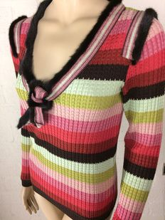 Missoni - new and never worn tunic with mink fur.