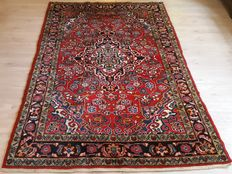 Beautiful hand-knotted Persian Hamadan -  221cm x 135cm No reserve price! Don't miss it!