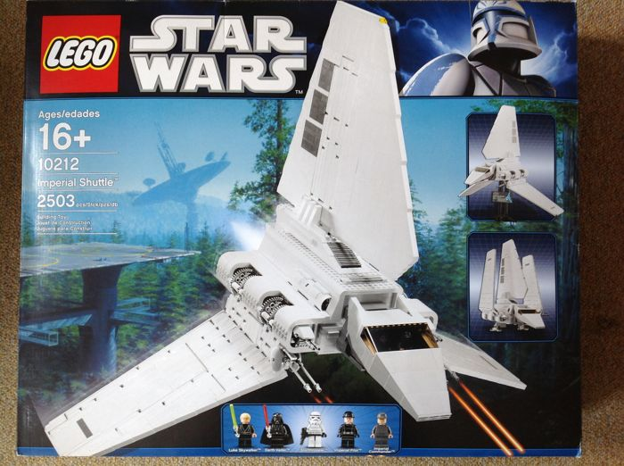Star Wars - 10212 - Imperial Shuttle - UCS