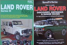 2 Books / Manuals on Land Rover