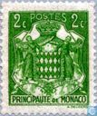 Postage Stamps - Monaco - Coat of Arms