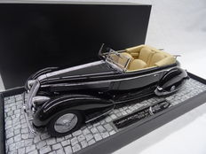 Minichamps - Scale 1/18 - Lancia Asturia Tipo 233 Corto 1936 - Colour Black