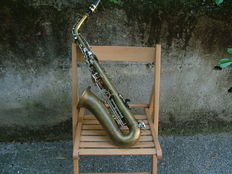 Alto saxophone from the 1950s/60s by Borgani -including its original case