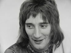 Michael Putland (1947-)/LFI - Rod Stewart - 1972 and 1974