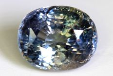 Colour-changing sapphire – 6.48 ct.