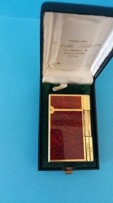 DuPont gold plated - in chinese red lacquer