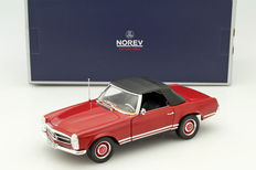 Norev - Scale 1/18 - Mercedes 280 SL 1969 - Red