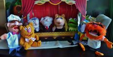 The Muppetshow Theater - complete original series of 8 handpuppets - Jim Henson 2010
