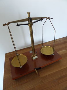Pharmacists Scale - Reyers & Son-Amsterdam