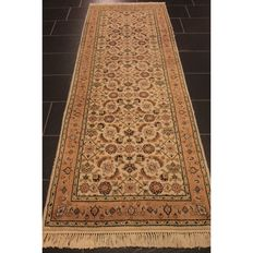 Orient carpet Indo Bidjar Herati  245 X 850cm, made in India end of last century