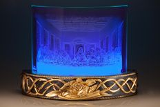 Angelo Santori - 2013 engraving on curved glass