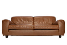 Molinari 'Fatboy' - light brown leather 3-seater sofa