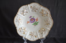 Meissen - Large ceremonial plate