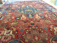 Antique hand knotted Persian carpet Nahavand, 148 x 224 cm, Iran, around 20th century