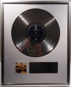 "The Beatles - Beatles for sale - 12"" German EMI Parlophone Record platinum plated record by WWA Awards"