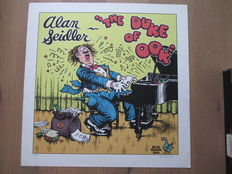 "Crumb, Robert - Sérigraphie Editions Oog & Blik / Lambiek  "" The Duke of Ook "" - (1994)"