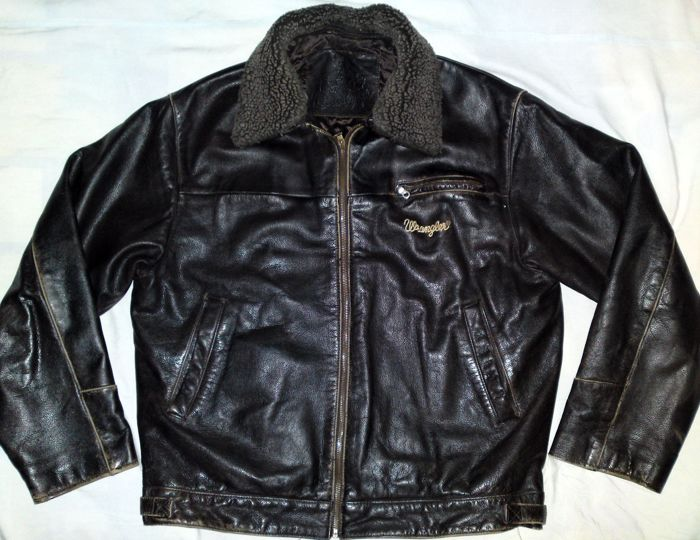 Wrangler - Leather jacket