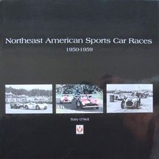 Book : American Sports Car Races 1950-1959 - Terry O'Neil