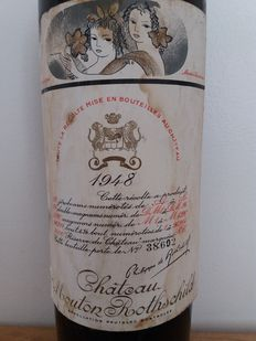1948 Chateau Mouton Rothschild, 2ème Grand Cru Classé - 1 bottle