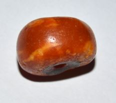 Ancient Tibet Amber Bead Around 1500 Years Old