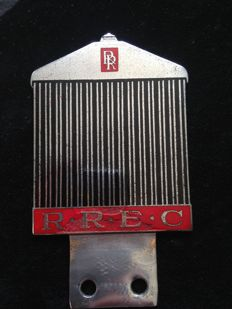 Original Rolls Royce membership badge