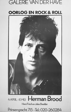 Herman Brood - War and rock and roll - 1980s