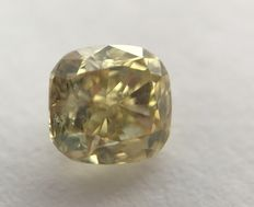 Natural diamond of 0.59 ct