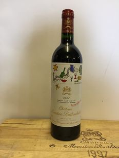 1997 Chateau Mouton Rothschild, Pauillac 1er Grand Cru Classé - 1 bottle (75cl) in original paper
